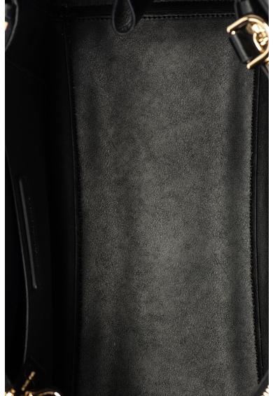 Michael Kors Benning bőr válltáska medállal női