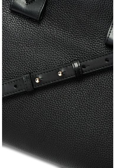 Michael Kors Кожена чанта Rollins с лого Жени