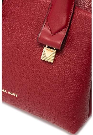 Michael Kors Кожена чанта Rollins с отделяща се презрамка Жени