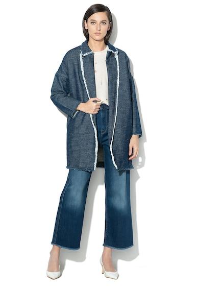 Pepe Jeans London Дълго яке Darcy с ревери Жени