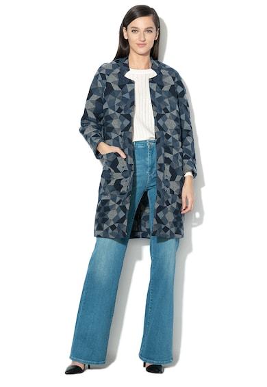 Pepe Jeans London Haina din amestec de lana cu imprimeu grafic Gwen Femei