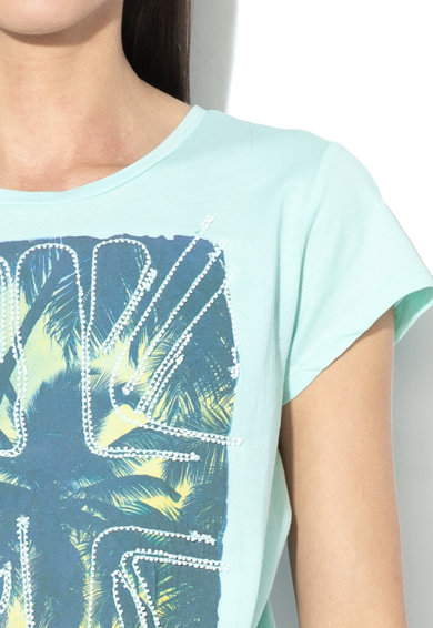 Pepe Jeans London Tricou cu imprimeu Cassee Femei