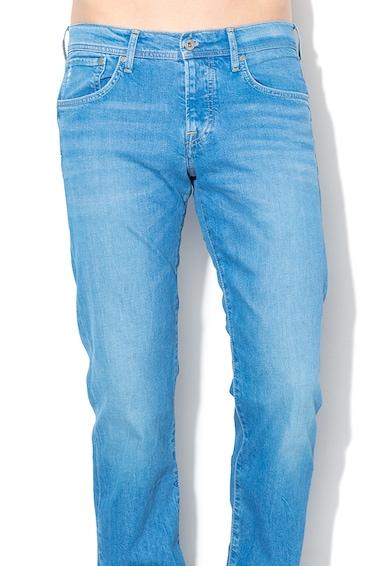 Pepe Jeans London Cane straight fit farmernadrág alacsony derékrésszel férfi