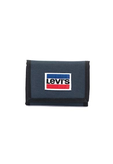 Levi's Háromba hajtható pénztárca logós foltrátéttel férfi