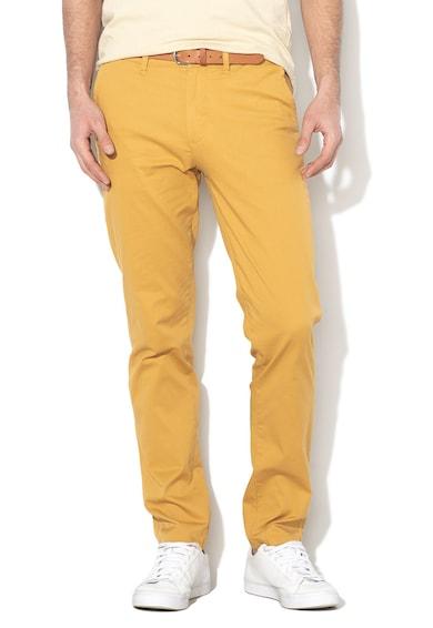 Selected Homme Pantaloni chino slim fit de bumbac oranic Yard Barbati