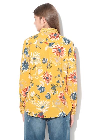 United Colors of Benetton Camasa cu model floral Femei