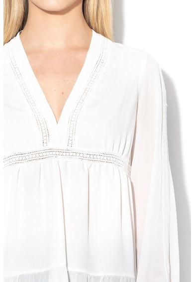 Sisley Bluza cu insertii crosetate Femei