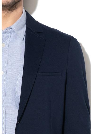 United Colors of Benetton Slim fit zakó hasított zsebekkel férfi