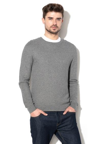 United Colors of Benetton Kötött pulóver texturált hatással férfi