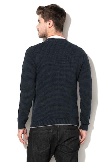 Esprit Плетен пуловер с лого Мъже