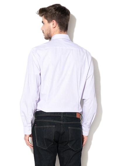 Esprit Вталена риза с десен на райе Мъже