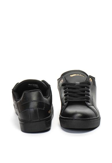 GAS Pantofi sport de piele cu imprimeu logo Dna Barbati