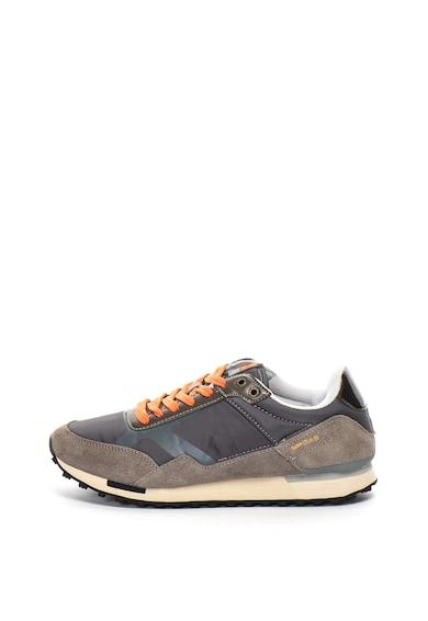 GAS Pantofi sport cu insertii de piele intoarsa Bora Barbati