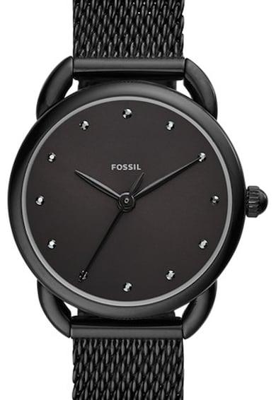 Fossil Часовник Tailor с метална мрежеста верижка Жени