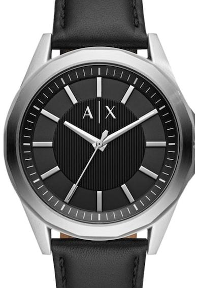 ARMANI EXCHANGE Часовник Drexler с кожена каишка Мъже
