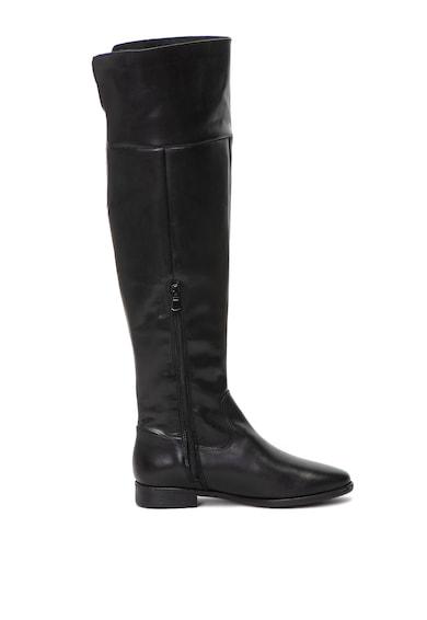 Tamaris Cizme lungi peste genunchi, de piele Femei