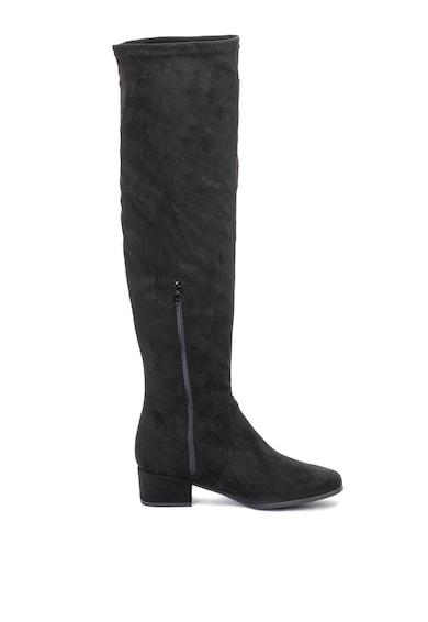 Tamaris Cizme lungi peste genunchi, de piele ecologica Femei