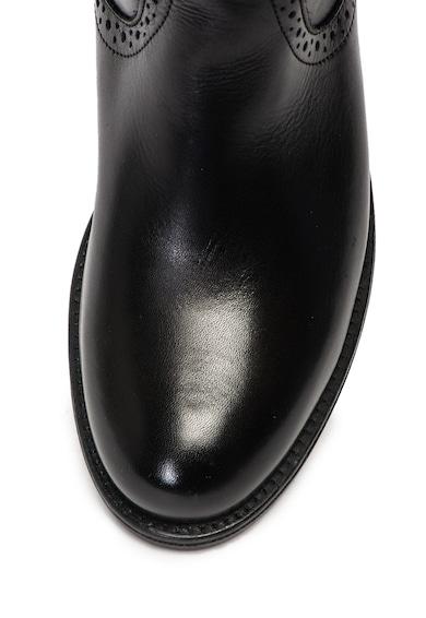 Tamaris Cizme pana la genunchi, de piele Femei