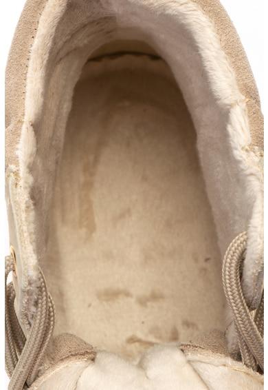 Tamaris Ghete de piele nabuc cu captuseala din fleece Femei