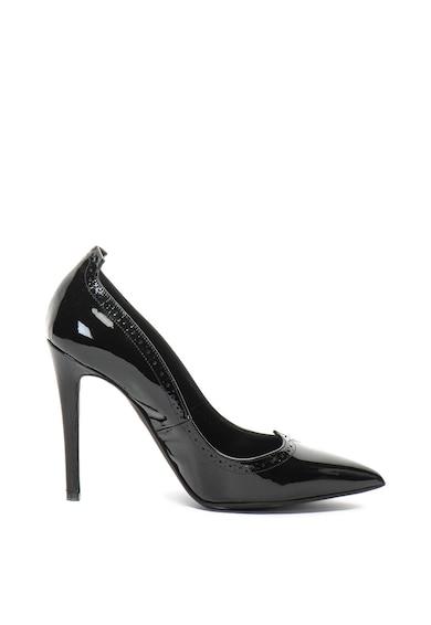 John Galliano Pantofi stiletto ascutiti, de piele lacuita Femei