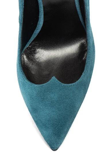 John Galliano Pantofi stiletto, de piele intoarsa, cu varf ascutit Femei