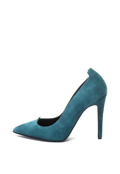John Galliano Велурени обувки с ток стилето Жени