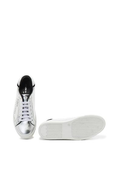 John Galliano Logómintás bőr sneakers cipő női