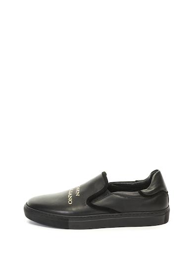 John Galliano Кожени спортни обувки без закопчаване Жени