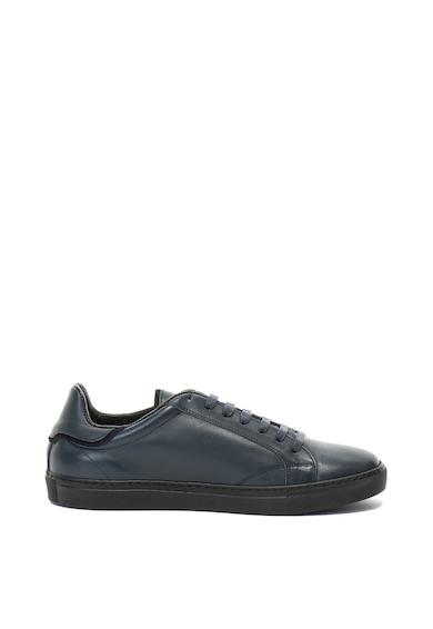 John Galliano Pantofi sport de piele cu imprimeu logo Barbati