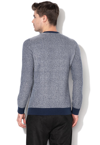 GUESS JEANS Пуловер с вълна и десен Мъже