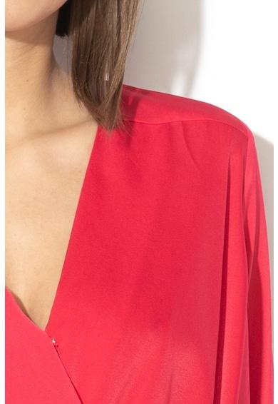 GUESS JEANS Блуза с цепка и асиметричен подгъв Жени