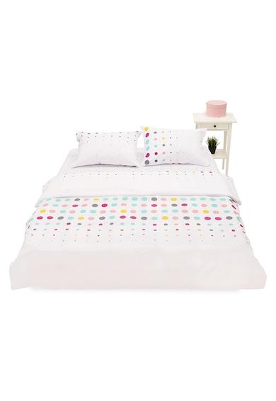 Heinner Home Lenjerie de pat pentru 2 persoane  100% bumbac, 4 piese, 144TC- Tetris Femei