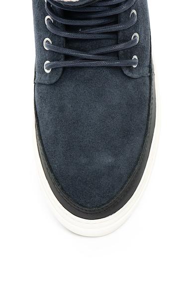 Gant Pantofi sport mid-high de piele si piele intoarsa Barbati