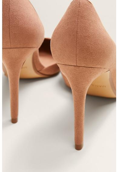 Mango Pantofi cu toc inalt Audrey D'Orsay Femei