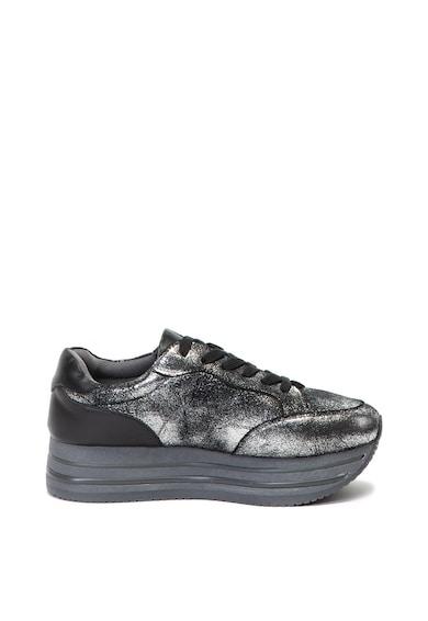 Xti Лъскави спортни обувки със скосена платформа Жени