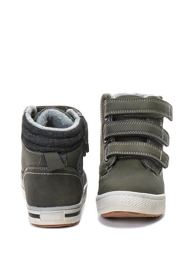 Xti Középmagas textil és műbőr sneakers cipő meleg béléssel Lány
