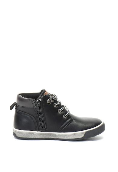 Xti Pantofi sport mid-high de piele ecologica si material textil Fete