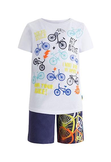 Tuc Tuc Set de bermude si tricou cu imprimeu Baieti