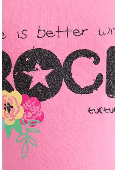 Tuc Tuc Tricou cu imprimeu text si floral Fete