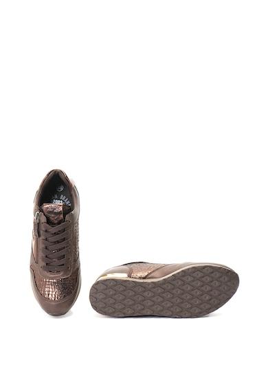 Refresh Pantofi sport de piele ecologica cu aspect metalizat Femei
