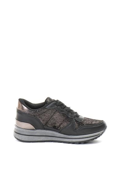 Refresh Pantofi sport cu aspect metalizat Combinado Femei