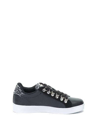 Enrico Coveri Eva sneakers cipő nyersbőr szegélyekkel női