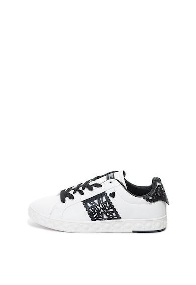 Enrico Coveri Crawford műbőr sneakers cipő női