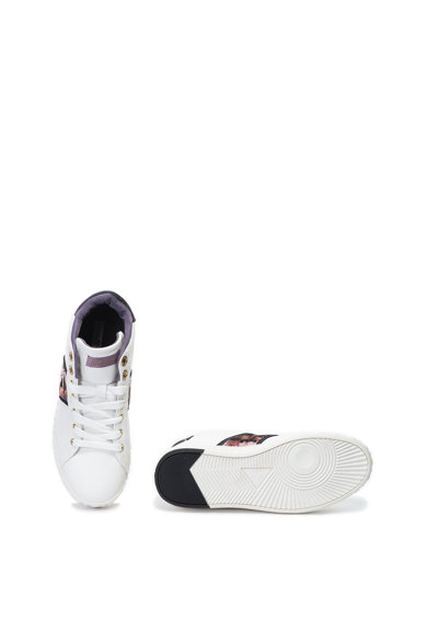 Enrico Coveri Pantofi sport mid-high de piele ecologica Crawford Femei