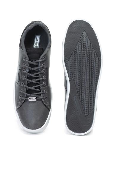 Enrico Coveri Pantofi sport de piele ecologica, cu garnituri din material textil Thistle Barbati