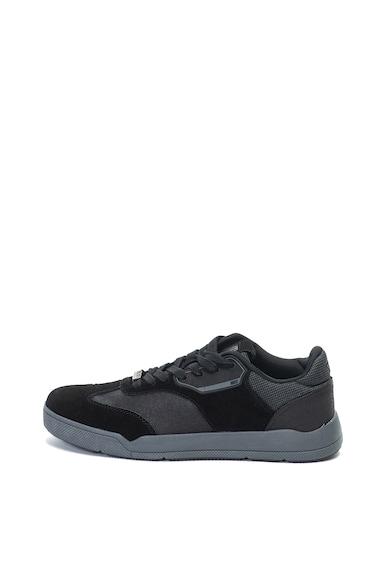 Enrico Coveri Dale sneakers cipő nyersbőr szegélyekkel férfi