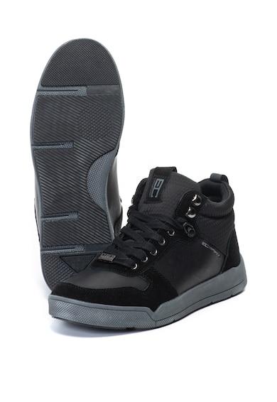Enrico Coveri Pantofi sport mid-high cu insertii de piele intoarsa Burns High Barbati