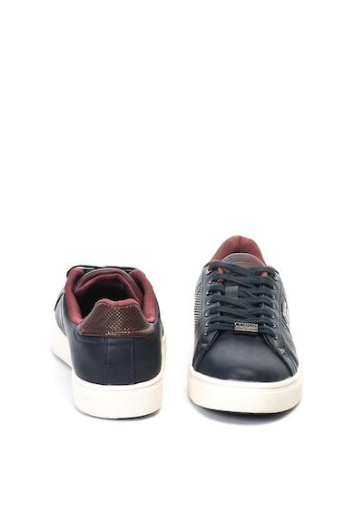 Enrico Coveri Pantofi sport de piele ecologica cu branturi detasabile Branch Barbati