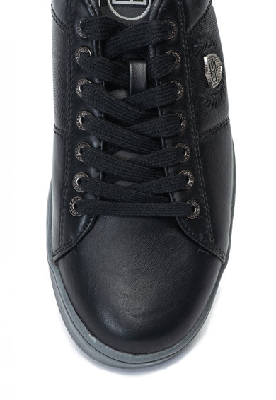 Enrico Coveri Pantofi sport de piele ecologica Barbati