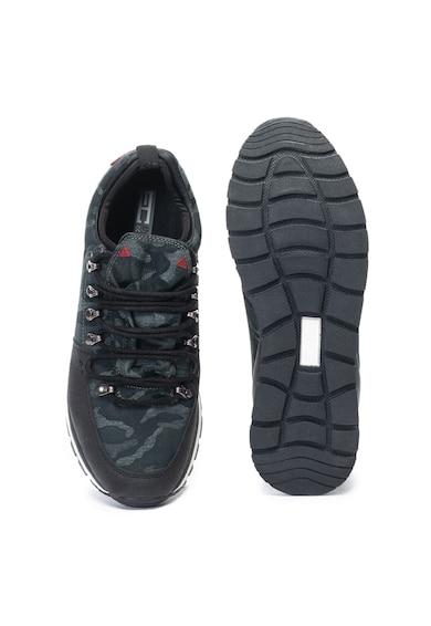 Enrico Coveri Pantofi sport slip-on cu model camuflaj Stapless Barbati